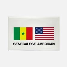 Senegalese American Rectangle Magnet