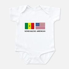 Senegalese American Infant Bodysuit