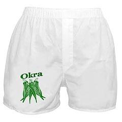 Okra Shirts Boxer Shorts