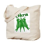 Okra Shirts Tote Bag