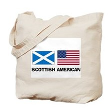 Scottish American Tote Bag