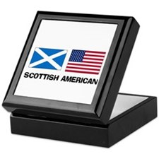 Scottish American Keepsake Box