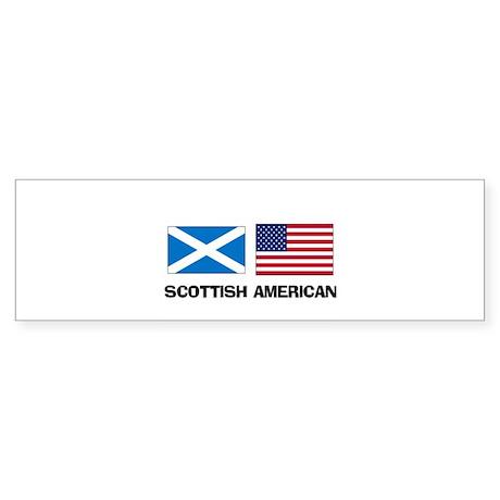 Scottish American Bumper Sticker