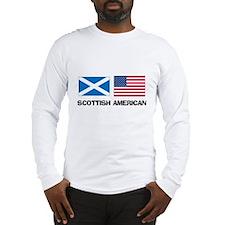 Scottish American Long Sleeve T-Shirt