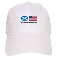 Scottish American Baseball Cap