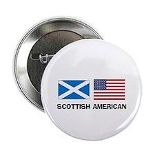 """Scottish American 2.25"""" Button"""