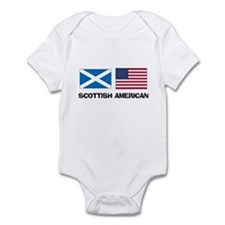Scottish American Infant Bodysuit