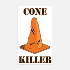 cone killer Rectangle Decal