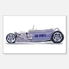 air force rod Rectangle Decal