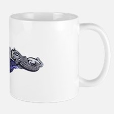 Silver Submariner Dolphins Mug