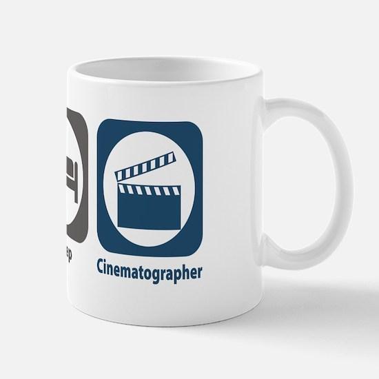 Eat Sleep Cinematographer Mug
