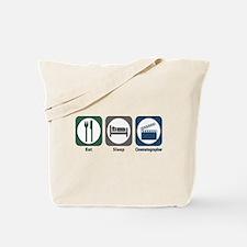 Eat Sleep Cinematographer Tote Bag