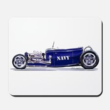 Navy Rod Mousepad