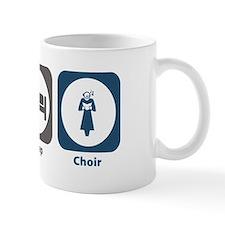 Eat Sleep Choir Small Mug