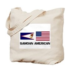 Samoan American Tote Bag