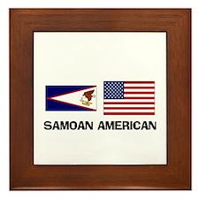 Samoan American Framed Tile
