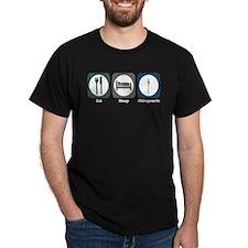 Eat Sleep Chiropractic T-Shirt