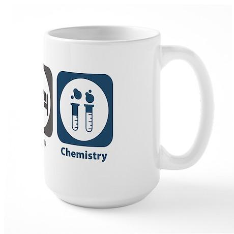 Eat Sleep Chemistry Large Mug