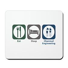 Eat Sleep Chemical Engineering Mousepad