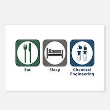 Eat Sleep Chemical Engineering Postcards (Package