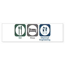 Eat Sleep Chemical Engineering Bumper Bumper Sticker