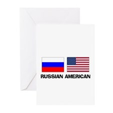 Russian American Greeting Cards (Pk of 10)