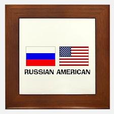 Russian American Framed Tile