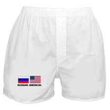 Russian American Boxer Shorts