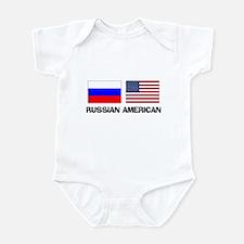 Russian American Infant Bodysuit