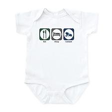 Eat Sleep Cement Infant Bodysuit