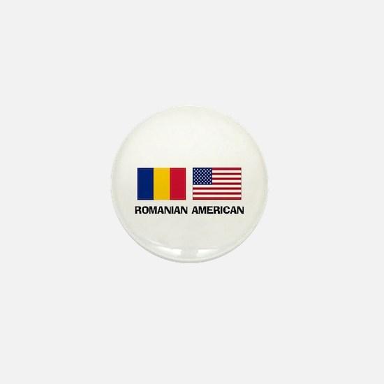 Romanian American Mini Button
