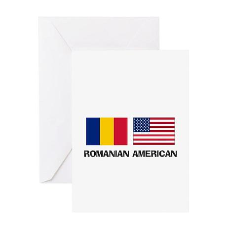 Romanian American Greeting Card