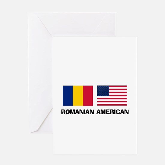 Romanian American Greeting Card
