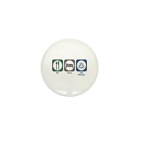 Eat Sleep Cell Biology Mini Button (10 pack)