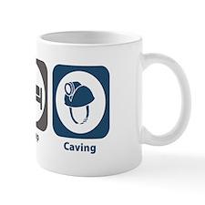 Eat Sleep Caving Small Mug