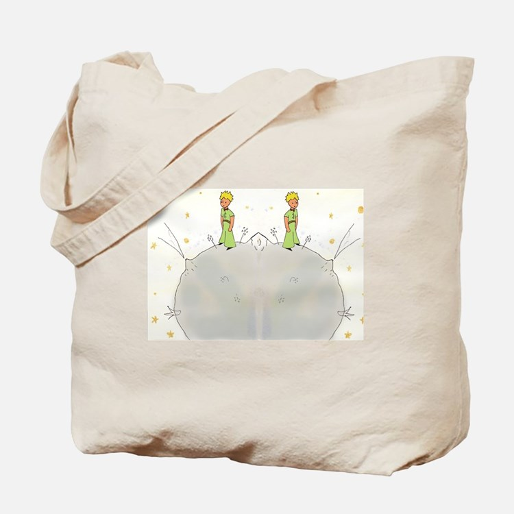 Cute The little prince Tote Bag