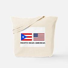 Puerto Rican American Tote Bag