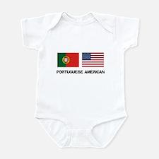 Portuguese American Infant Bodysuit