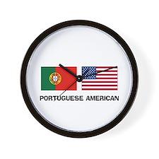 Portuguese American Wall Clock