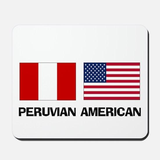 Peruvian American Mousepad