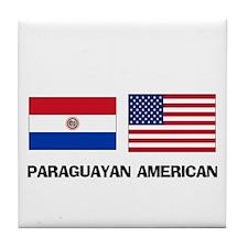 Paraguayan American Tile Coaster