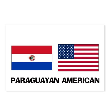 Paraguayan American Postcards (Package of 8)