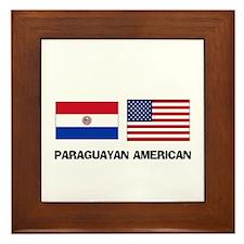 Paraguayan American Framed Tile