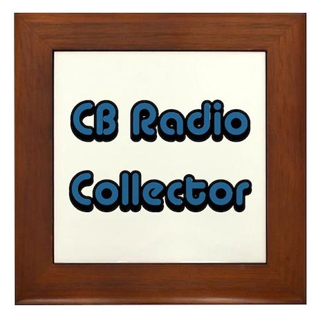 CB Radio Collector Framed Tile