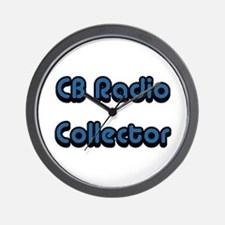 CB Radio Collector Wall Clock