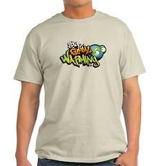 Stop Global Warming - Graffit Light T-Shirt