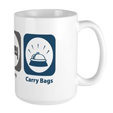 Eat Sleep Carry Bags Mug