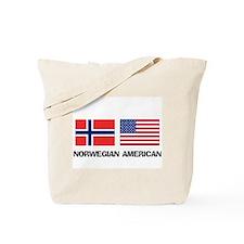 Norwegian American Tote Bag