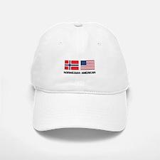 Norwegian American Baseball Baseball Cap
