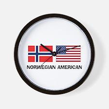 Norwegian American Wall Clock